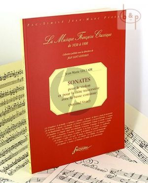 Sonates 2e Livre violon ou flute et Bc
