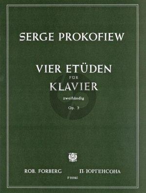 Prokofieff 4 Etuden Op. 2 Piano