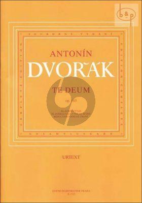 Te Deum Op.103 SB soli-SATB-Orch. (Vocal Score