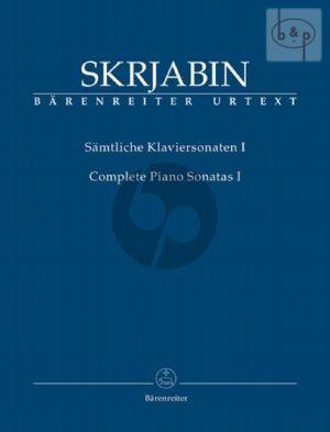 Samtliche Sonaten Vol. 1 Klavier