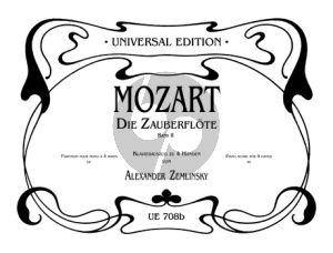Mozart Die Zauberflote Vol.2 Piano 4 Hds. (transc. Alexander Zemlinsky)
