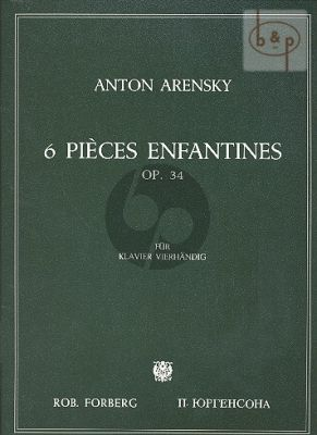 6 Pieces Enfantines Op.34