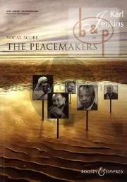 The Peacemakers for mixed choir (SATB), optional choir II (high voices) and ensemble