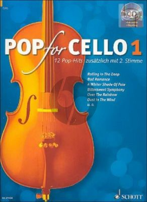 Pop for Cello Vol.1 (with 2nd Part)