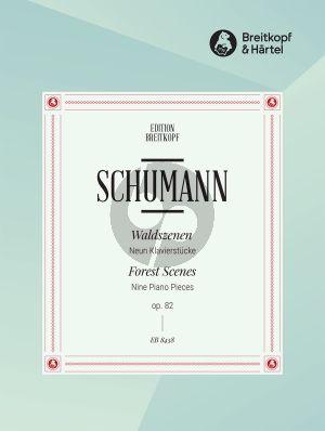 Schumann Waldszenen Op. 82 Klavier (Clara Schumann) (Joachim Draheim)