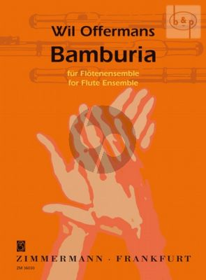 Bamburia for Flute Ensemble (5 Fl.[C]-Bass Fl.)