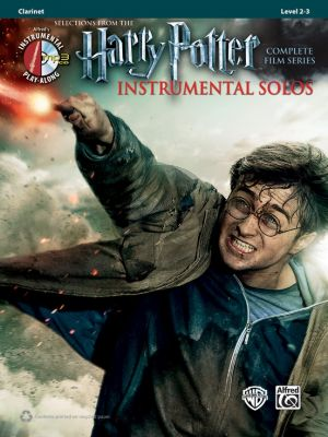 Harry Potter Instrumental Solos for Clarinet (Selections from the Complete Film Series) (Bk-Cd) (arr Bill Galliford)