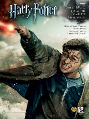 Harry Potter Instrumental Solos (Selections from the Complete Film Series) Easy Piano (arr. Dan Coates)