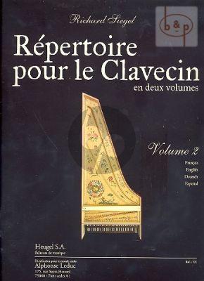 Repertoire pour le Clavecin Vol.2