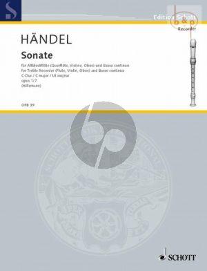 Sonate C-dur Op.1 No.7