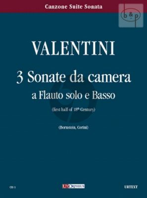 3 Sonate da Camera