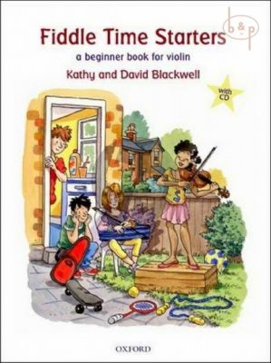 Fiddle Time Starters (A Beginner Book for Violin