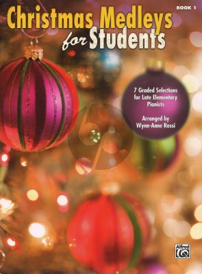 Christmas Medleys for Students Vol.1 (Late Elementary) (Arr. by W.A. Rossi)