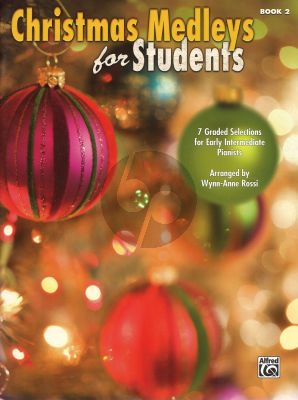 Christmas Medleys for Students Vol.2 (Early Intermediate) (Arr. by W.A. Rossi)