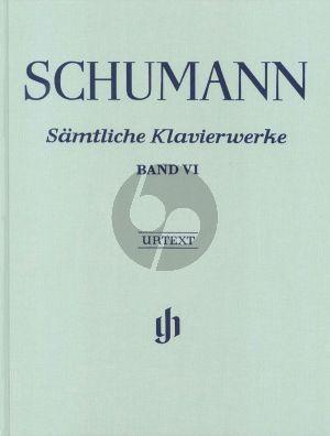 Schumann Samtliche Klavierwerke vol.6 LN