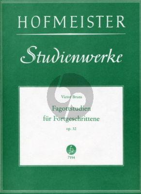 Bruns Studien fur Fortgeschrittene Op.32 Fagott