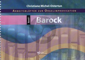 Michel-Ostertun Arbeitsblätter zur Orgelimprovisation Band 1 (Barock)