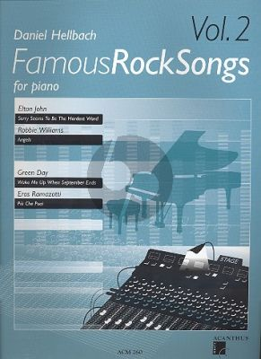 Hellbach Famous Rock Songs Vol.2 Piano