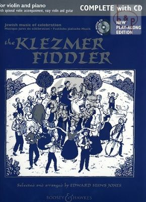 The Klezmer Fiddler (Violin-with 2nd Vi.-Piano- Guitar opt.)