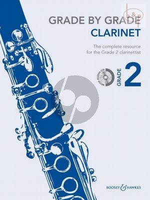 Grade by Grade Vol.2 Clarinet-Piano (Bk-Cd) (arr. by Janet Way)