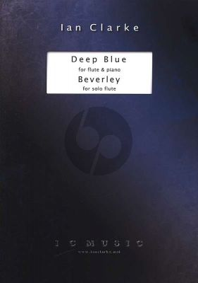 Clarke Deep Blue & Beverley Flute solo and Flute with Piano (Grade 7)
