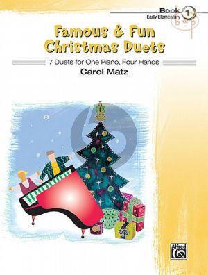 Famous & Fun Christmas Duets Vol.1