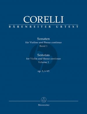 Corelli  Sonaten Op.5 Vol.1 (No.1-6) Violine-Bc (Christopher Hogwood)