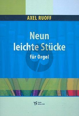 Ruoff 9 Leichte Stucke Orgel