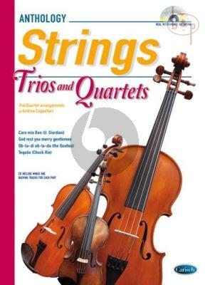 Anthology Strings Trios & Quartets (Score/Parts)