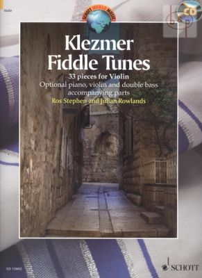 Klezmer Fiddle Tunes for Violin with optional Piano-Violin and Double Bass)