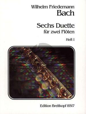 Bach 6 Duette Vol.1 2 Flöten (Gerhard Braun)