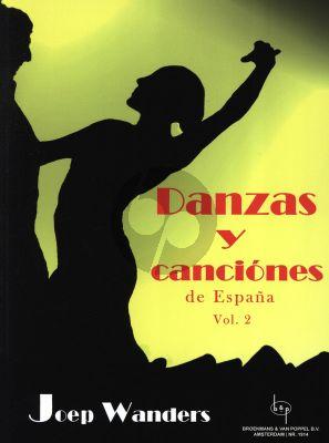 Wanders Danzas y Canciones de Espana Vol.2 Guitar