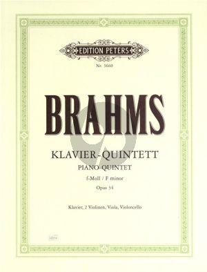 Quintet f-minor Op.34 (2 Vi.-Va.-Vc.-Piano)