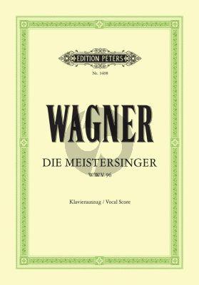 Wagner Die Meistersinger von Nürnberg WWV 96 Klavierauszug (Oper in 3 Akten) (Gustav F. Kogel)