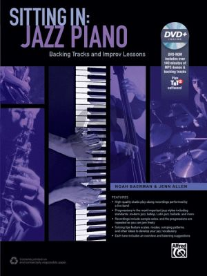 Baerman-Allen Sitting In: Jazz Piano (Backing Tracks and Improvisation Lessons)