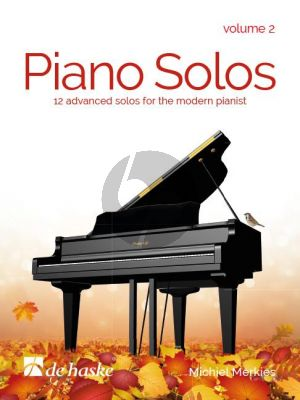 Merkies Piano Solos Vol.2 (12 Advanced Solos for the Modern Pianist)