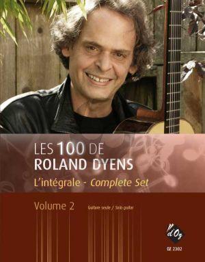 Dyens Les 100 de Roland Dyens l'Integrale - Complet Set Vol.2