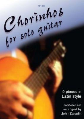 Zaradin Chorinhos for Solo Guitar