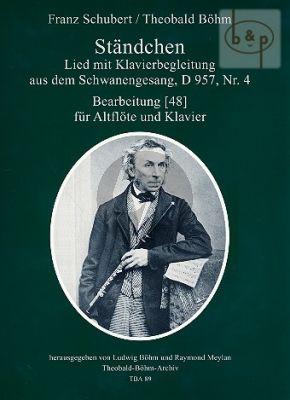Standchen (aus Schwanengesang D.957 No.4) (Alto Flute-Piano)