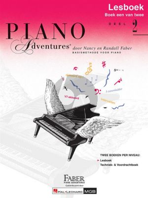 Faber Piano Adventures Lesboek 2 (Bk-Cd) (Ned.)