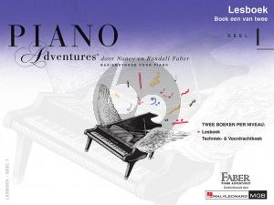 Faber Piano Adventures Lesboek 1 (Bk-Cd) (Ned.)
