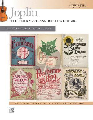 Joplin Selected Rags for Guitar (arr. Nathaniel Gunod)