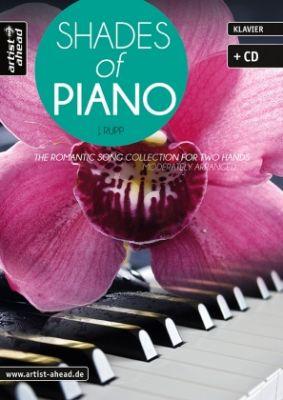 Rupp Shades of Piano (Bk-Cd)