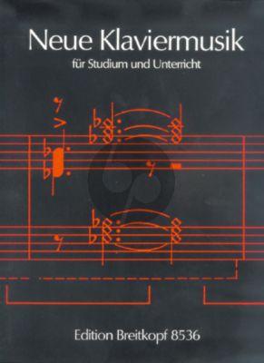 Neue Klaviermusik Studium und Unterricht