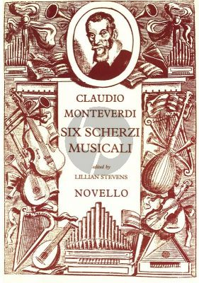Monteverdi 6 Scherzi Musicali Soprano, Mezzo-Soprano, Bass Voice, String Instruments, Organ (Vocal Score) (Lillian Stevens)