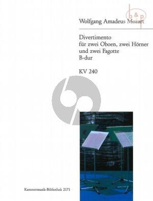 Divertimento B-dur KV 240