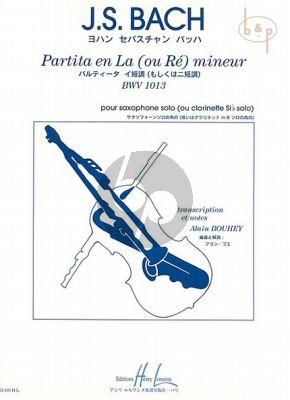 Partita a-mineur BWV 1013