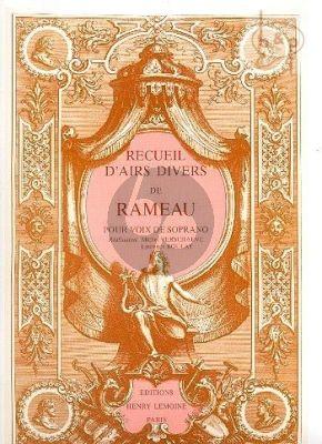 Recueil d'Airs Divers Vol.1