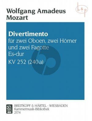 Divertimento Es-dur KV 252