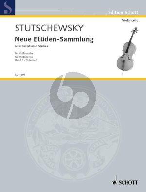 Neue Etuden-Sammlung Vol.1 Violoncello